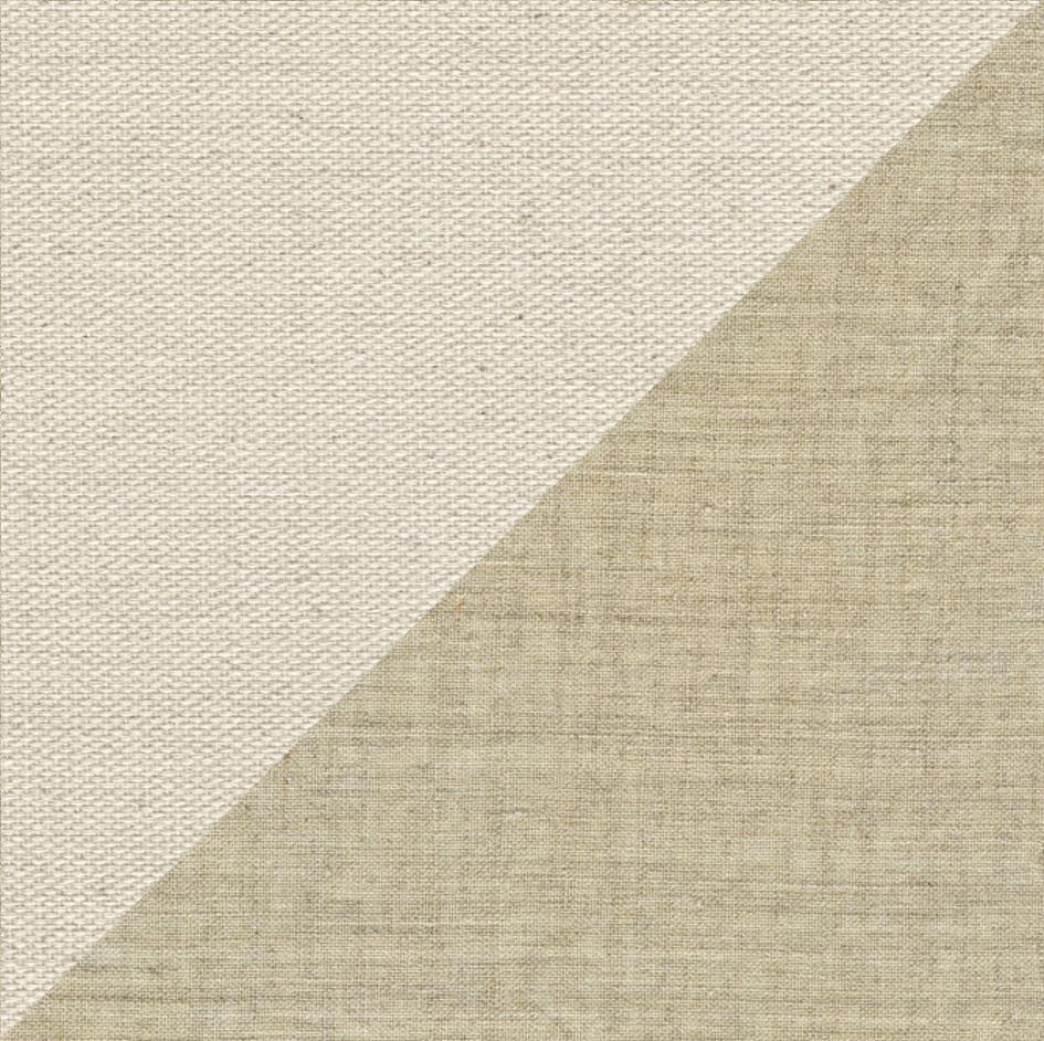 Toile de lin uniforme avec une finition bas brillant